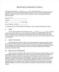 Property Maintenance Contract Template | Nfcnbarroom.com