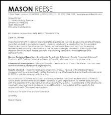 F Professional Certified Financial Examiner Cover Letter