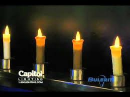 bulbrite innovative flicker flame led light bulb