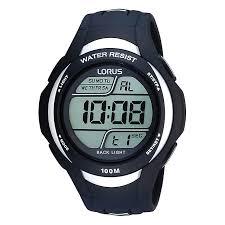 lorus watches h samuel lorus men s black digital watch product number 9450254