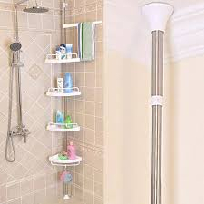 Telescopic Shower Corner Shelves Shower Corner Shelf Rroomme 49