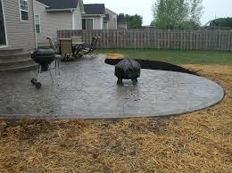 stamped concrete patio cost per square foot luxury rochester by