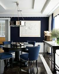 stunning navy dining room more decor lusciousness here mylusciouslife