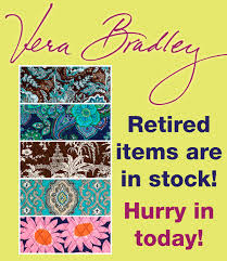 Vera Bradley Discontinued Patterns New Retired Vera Bradley Patterns Are In Stock