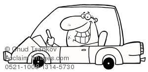 car driving clipart black and white. Brilliant Driving Intended Car Driving Clipart Black And White A