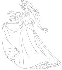 Sleeping Beauty Coloring Pages Princess Coloring