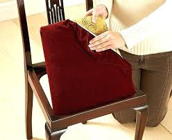 dining room chair seat cushion covers pads marvelous how to