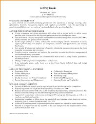 Purchasing Agent Resume Sample Free Resume Templates