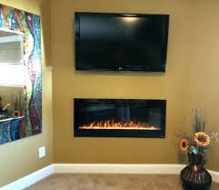 gmhome 50 electric fireplace wall hanging 50 inch electric