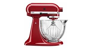 score a black friday like now on this super highly rated 5 quart artisan kitchen aid mixer you can choose from silver or red