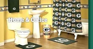 green bay packers rug green bay packers bathroom set green bay packers bath set bathroom rug