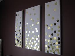 DIY confetti wall art for bedroom- this could be really easy with giant  sequins  