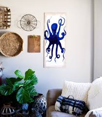 create a simple diy octopus wall art piece with the new decoart americana premium artist acrylics found at michaels  on diy wall art michaels with diy octopus wall art whipperberry