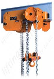 kito shb series ultra low headroom manual chain hoist range shb low headroom chain hoist