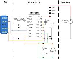 ece the autonomous driving car h bridge circuit
