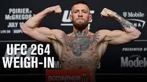UFC 264: Poirier vs McGregor 3 Weigh-in ...
