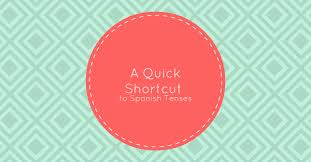 tenses a quick shortcut to spanish tenses my daily spanish