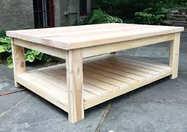 Coffee Table - Side View