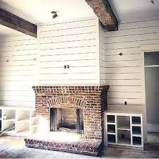 images of brick fireplaces modern farmhouse fireplace decor ideas from brick images of reclaimed brick fireplaces