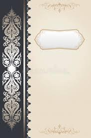 decorative vine background book cover design stock ilration ilration of style