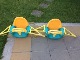two edu play baby outdoor swing seats 3 in 1 perfect for