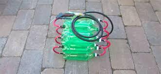 compresor de aire casero. en todomountainbike: cómo fabricar un depósito de aire comprimido con unas cuantas botellas refresco compresor casero a