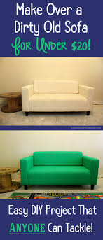 how to easily paint a couch for under 20