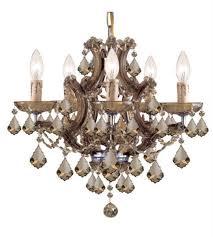world of lighting wl4459 mini chandeliers antique brass glass elizabeth