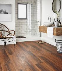 Wooden Flooring For Kitchens Bathroom Flooring Ideas And Advice Karndean Designflooring