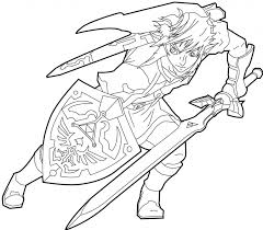 Each piece of the barbarian armor set increases 'attack up' and. Free Printable Zelda Coloring Pages For Kids