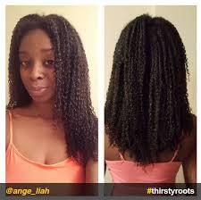 instafeature natural hair growth regimen ange liah