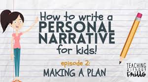 Story Mountain Planner Template Writing A Personal Narrative Planning Pre Writing A Story For