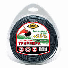<b>Леска для триммера DDE</b> Steel Rod Line 2 0mm x 63m Light Blue ...