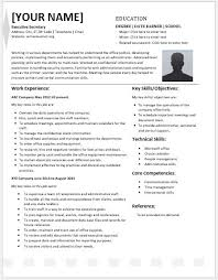 Executive Secretary Resume
