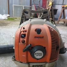 stihl backpack blower prices. stihl backpack blower br600. used 2 seasons. prices