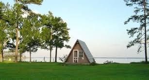 waterfront a frame tiny house