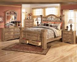 wooden rustic king size bedroom sets  special rustic king size