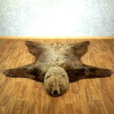 bear head rug faux polar bear rug bear rug for grizzly bear taxidermy rug mount for the bear rug taxidermy michigan