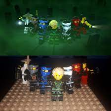 I recreated all the group shots in the intros of seasons 1-7 (skybounds  theme doesn't have one): Ninjago
