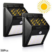wireless art lighting. 50x 16 leds solar light white wireless waterproof motion sensor security outdoor lighting art e