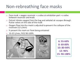non rebreather mask delivers how much oxygen