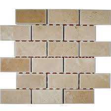 ivy hill tile crema marfil chamfered 12 in x 12 in x 8 mm