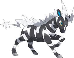 Pokemon 2523 Shiny Zebstrika Pokedex Evolution Moves