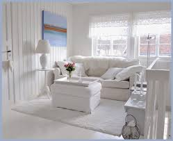 Living Room With White Furniture Stunning Shabby Chic Living Room With White Look Living Room