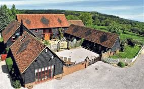 Traditional barn conversion, from The Telegraph.