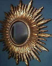 gold sunburst mirror. Antique Gold Sunburst Mirror Notonthehighstreet.com