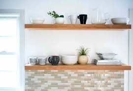diy kitchen shelves i was going to the chunky shelves myself but when i went to diy kitchen shelves