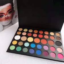 As controversial as he is, it's hard to deny his talent and artistry. Goovitor James Charles 39 Colors Eyeshadow Palette Xmas Shimmer Matte Maquillaje High Pigment Eye Shadow Aliexpress