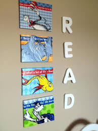 dr seuss canvas wall cute dr seuss wall art