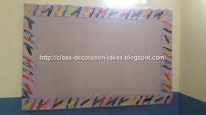 Chart Border Decoration Ideas Class Decoration Ideas Decorated Flowers With Background